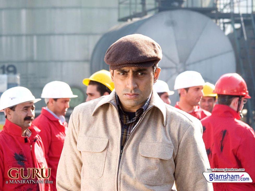 abhishek in guru movie