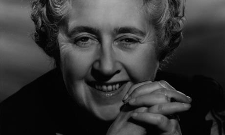 Agatha Christie novel writing