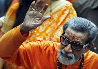 Bal Thackeray last images