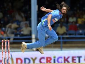 Ishant Sharma over