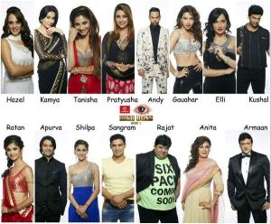 Bigg Boss 7 contestants