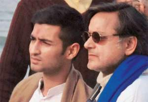 shiv and tharoor after sunanda pushkar' poisoning