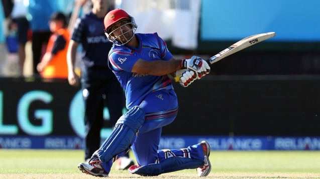 Samiullah Shenwari struck three sixes in the 47th over to change the game,