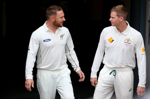 Australia V New Zealand Test