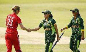 women pakistan v england