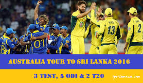 australia vs srilanka test series 2016
